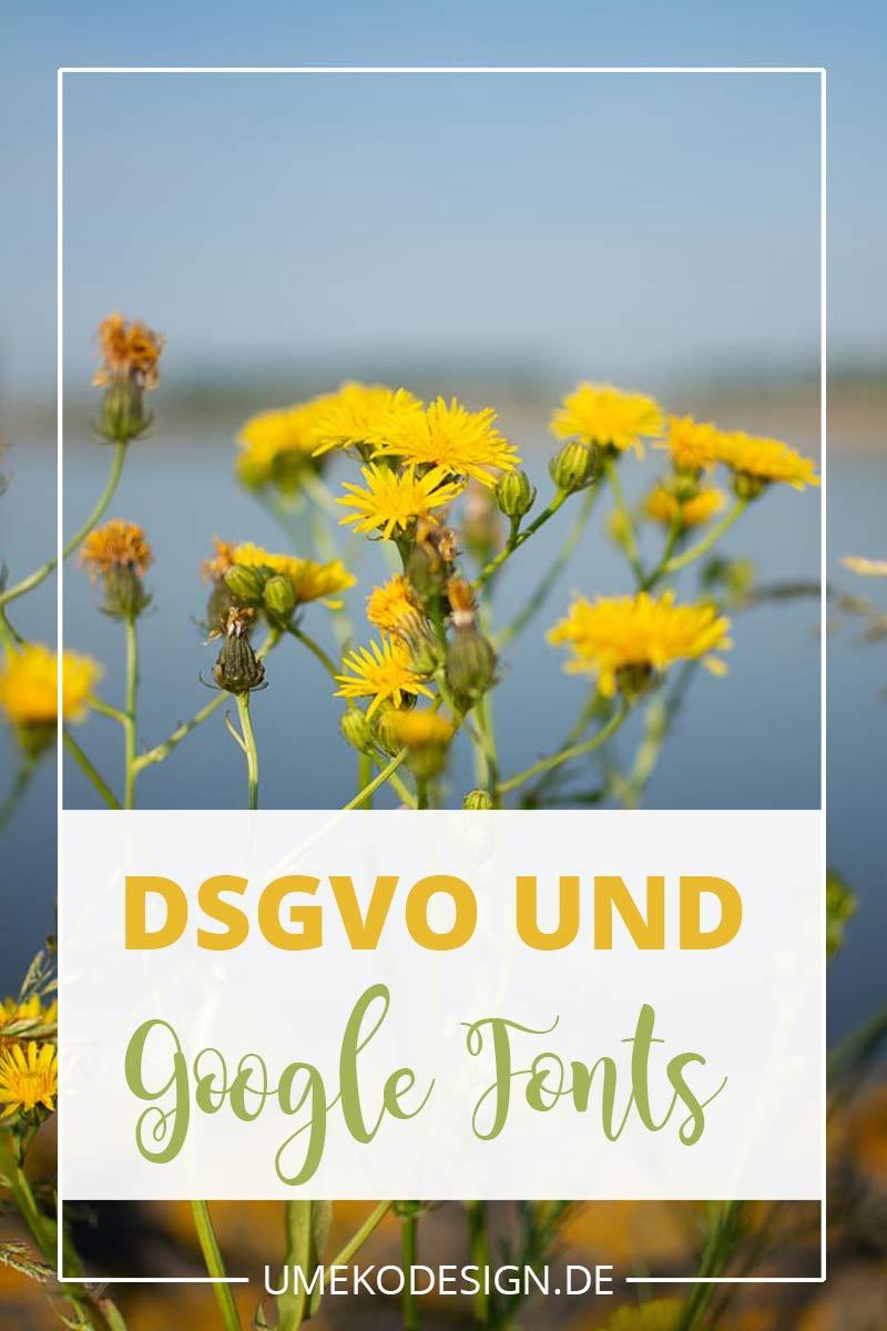 DSGVO Google fonts
