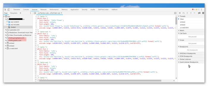 DSGVO und Google Fonts