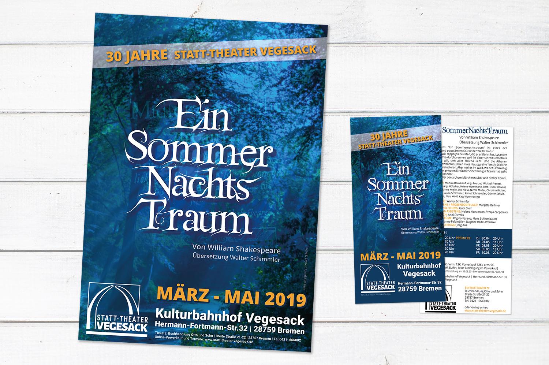 Plakat- und Flyerdesign